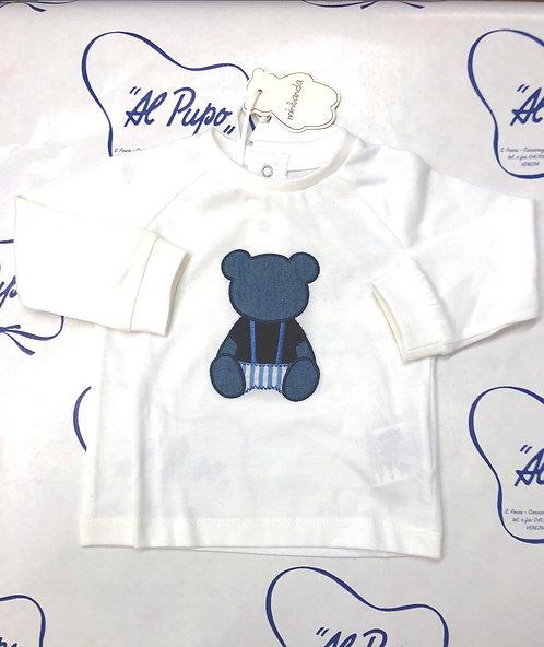 Maglietta manica lunga SARABANDA bianca