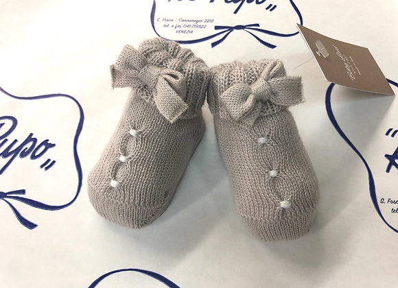 Scarpine BABY LORD in pura lana  artigianale