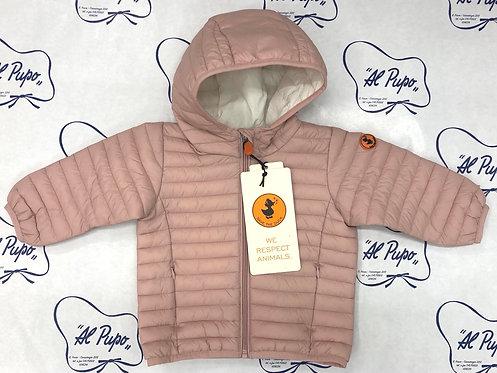 Piumino 100 GRAMMI Save the duck rosa modello BABY
