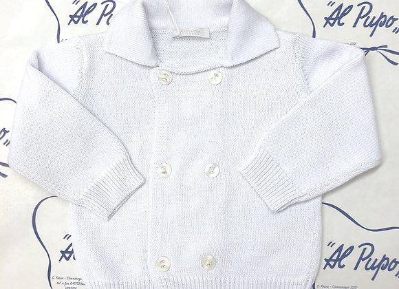 Cardigan in cotone COCCODÈ FIRENZE bianco
