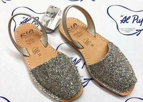 Sandali RIA MENORCA glitter argento (da 34 a 39)