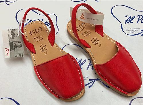 Sandali RIA MENORCA rossi (da 34 a 39)