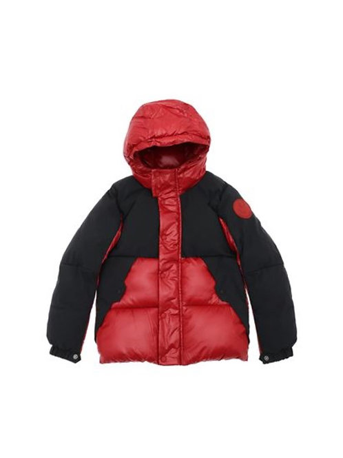 Save the Duck rosso nero bomber