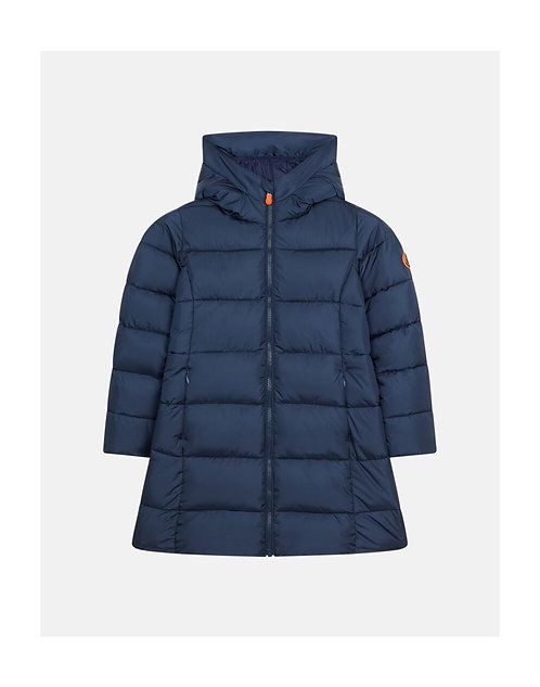 Piumino SAVE THE DUCK bimba blu navy