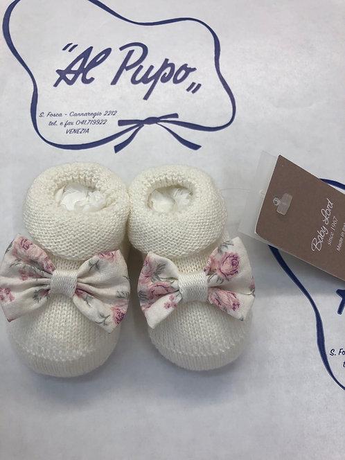 Scarpine BABY LORD puro cotone artigianale