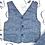 Thumbnail: Panciotto COCCODÈ Blu con retro bianco e blu a quadretti