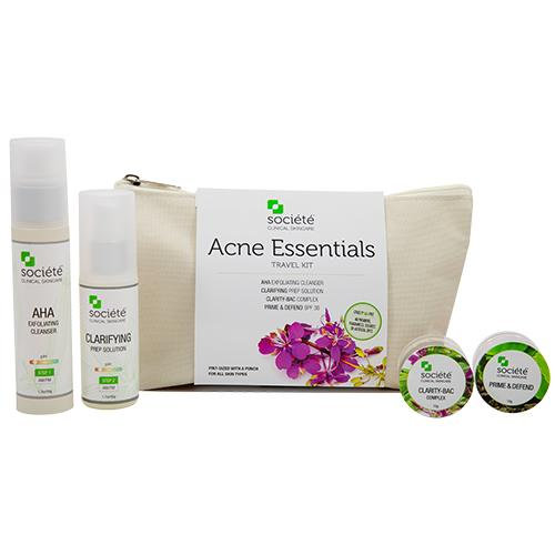 Acne Essentials Travel Kit