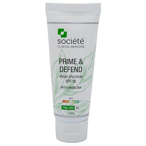 Prime & Defend Broad Spectrum SPF 30 with Green Tea