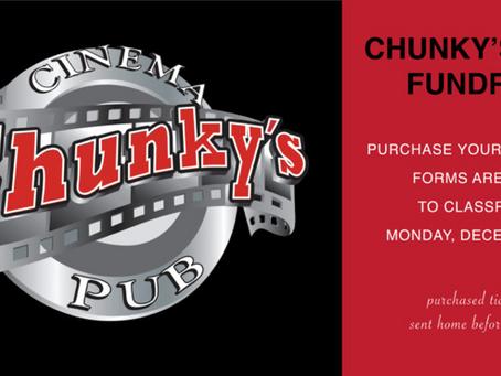 Chunky's Cinema Fundraising Recap