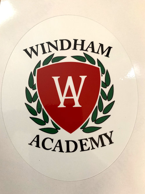 Windham Academy Car Decal
