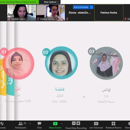 Empowering young women at the Baramij Laha Program: Palestine