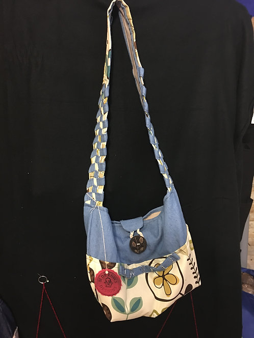 Braided strap Purse