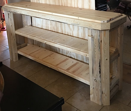 Buffet Table White Pine
