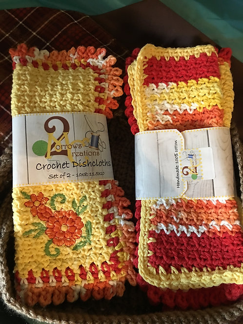Dish Cloths Set of 2