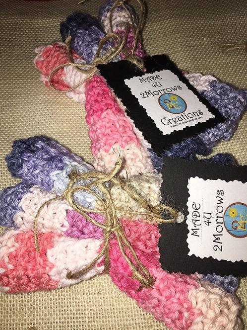Denim today mini dishcloths - set of 3