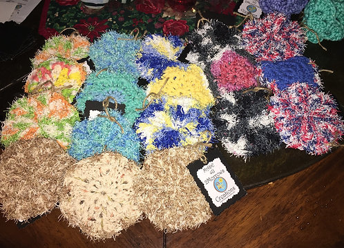 Crochet Scrubbies for face or dishes