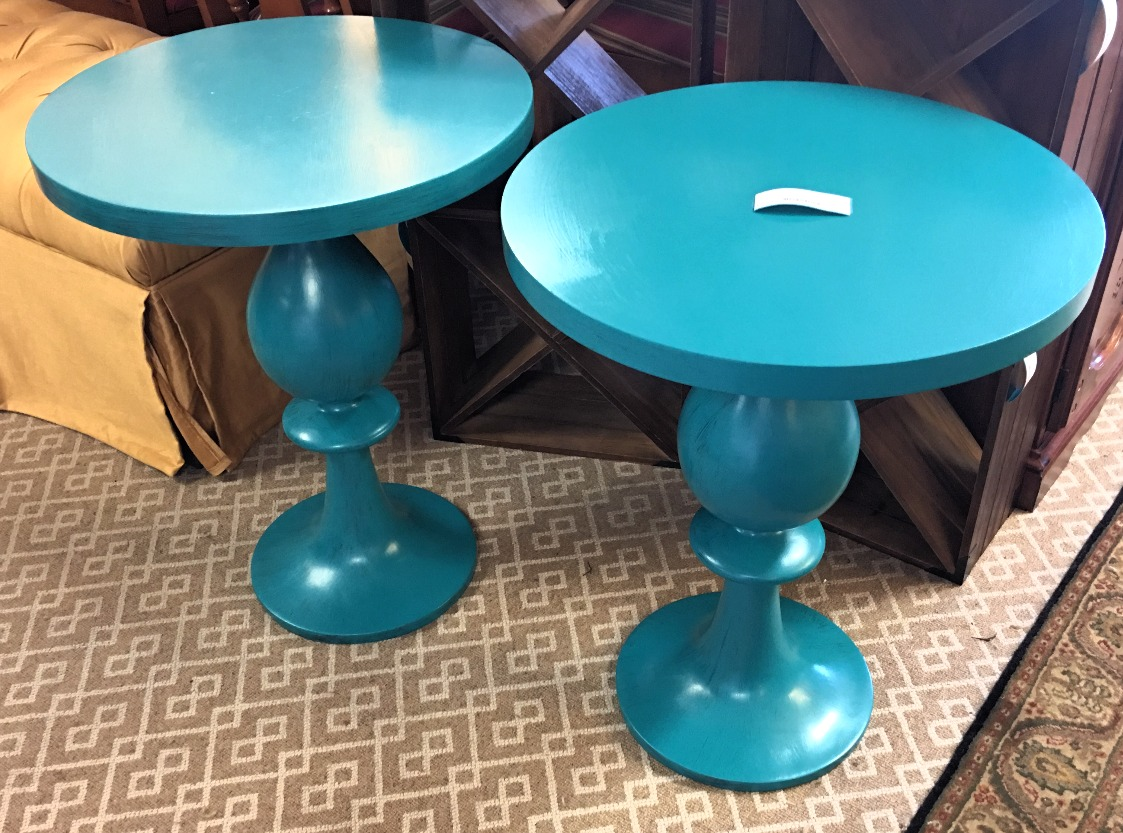 Pair of ReStyled Side Tables