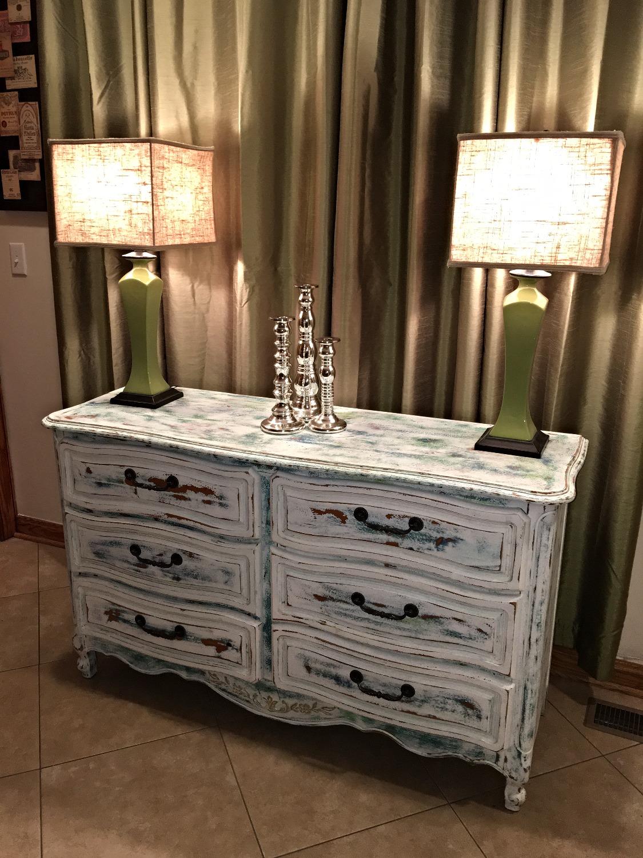 ReStyled Mermaid Dresser