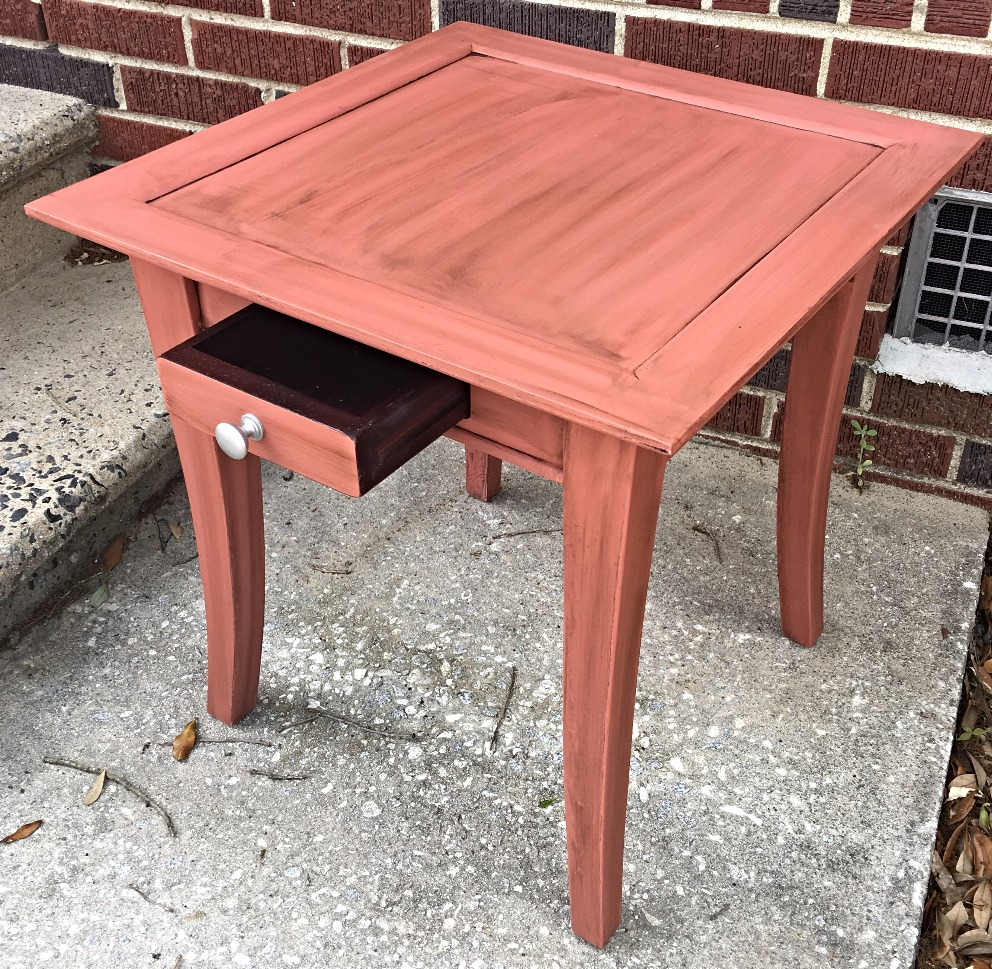ReStyled Side Table W/ Drawer