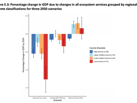 Global Futures report: Inaction on ecological crisis will cost $9.87trillion in GDP by 2050