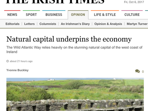 News: Natural Capital in the Irish Times