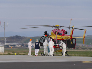 Luxury helicopter services turn rescuers during lockdown