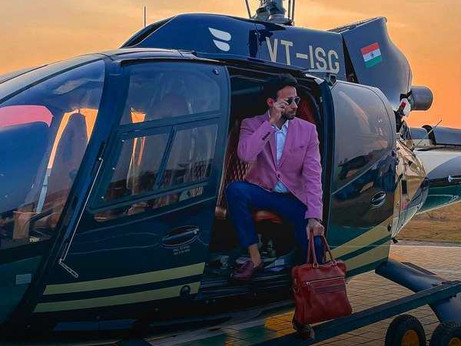 Now, you can fly in a private, luxury helicopter from Bengaluru to Coorg, and more
