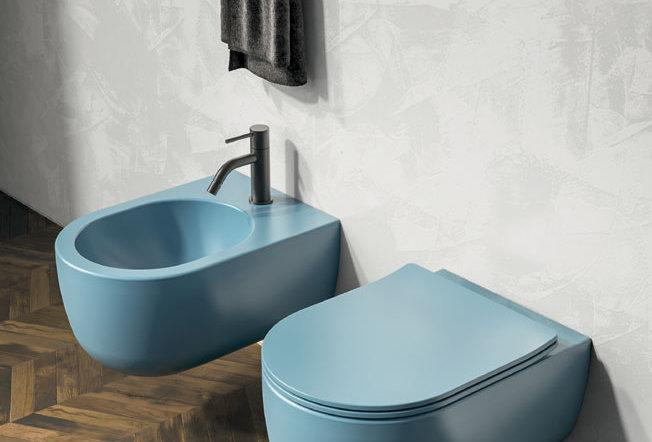 olympia   mylady color - bidet + wc + copri sedile rallentato