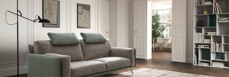 Samoa - Living Bright divano componibile 243x98 come foto stoffa cat.B