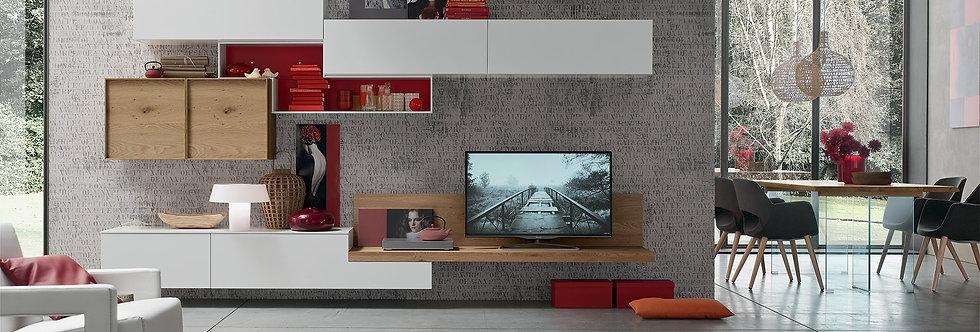 Maronese - Seta soggiorno L. 352,2 X P.25/49,2 cm prezzo come foto