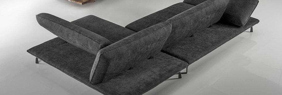 Exco - Rock divano componibile 310x190 come foto stoffa cat.B