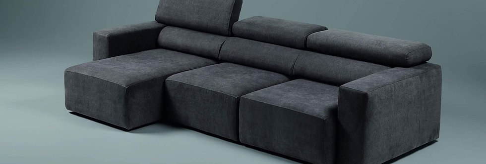 Exco - Bistro divano componibile 285x103 come foto stoffa cat.B