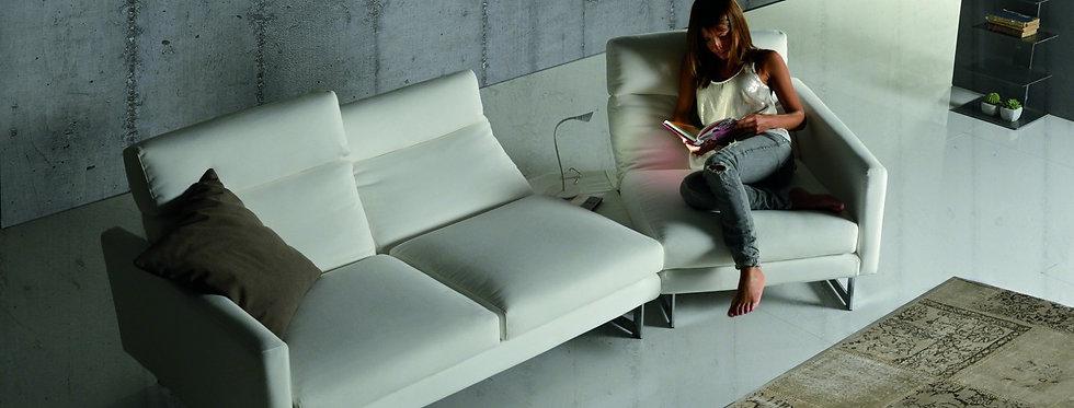 Exco - Book divano componibile 266x132 come foto stoffa cat.B