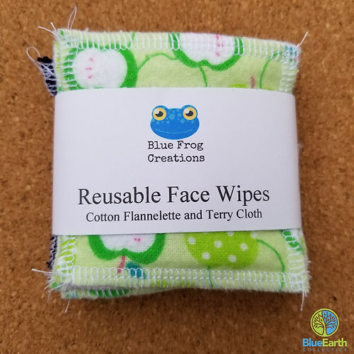 Face Wipes (Reusable) - Green