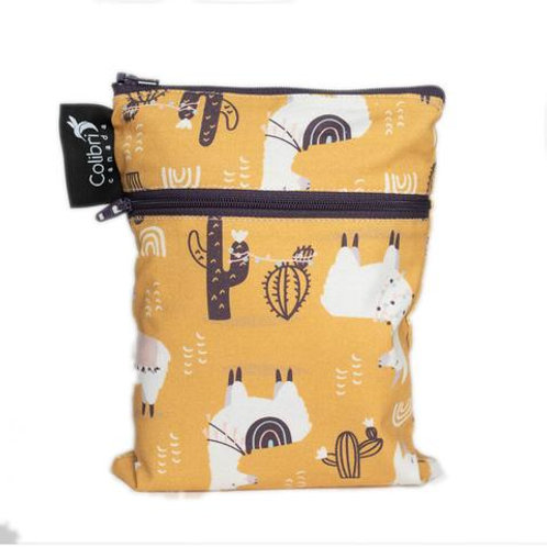 Mini Double Duty Wet Bag - Lamas