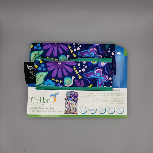 Double Duty Wet Bag - Flowers