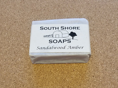 Sandalwood Amber Soap