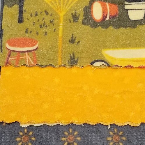 Beeswax Food Wraps F - 3 pack