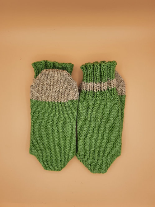 Wool Socks - Size Small (5-6) - Green