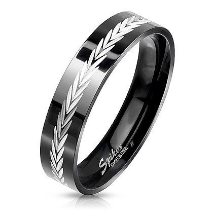Arrow center black ring