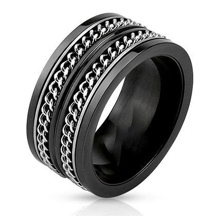 Black spin ring