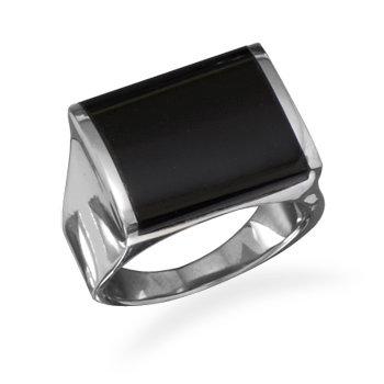 Square onyx ring