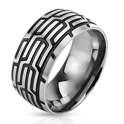 Tire track ring