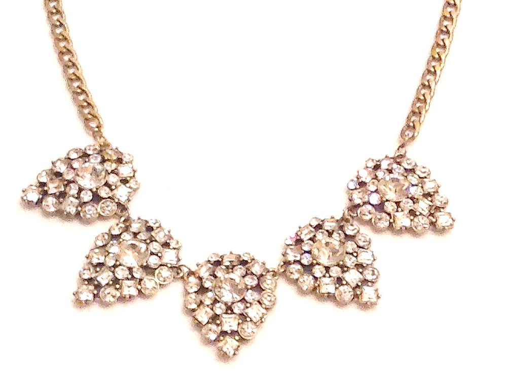 crystal statement jewelry