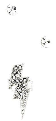 Lighting design silver ear cuffs