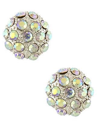 Crystal dome stud