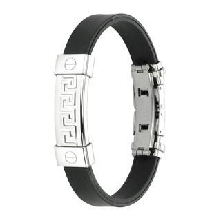Rubber ID bracelet
