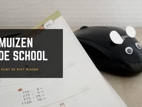 Pleidooi voor muizen in de school