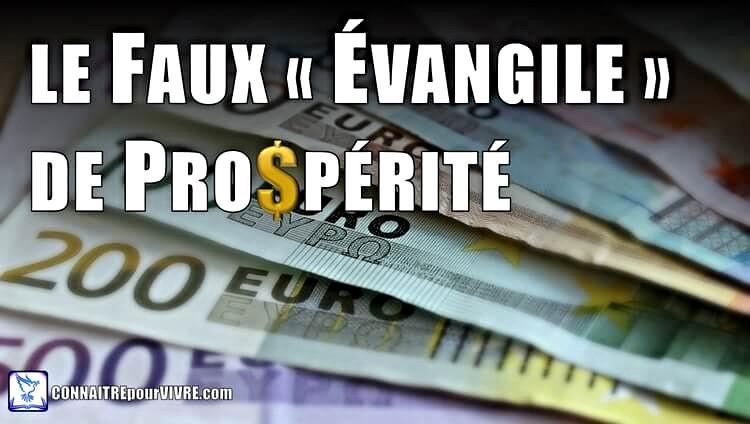 évangile prospérité versets bibliques