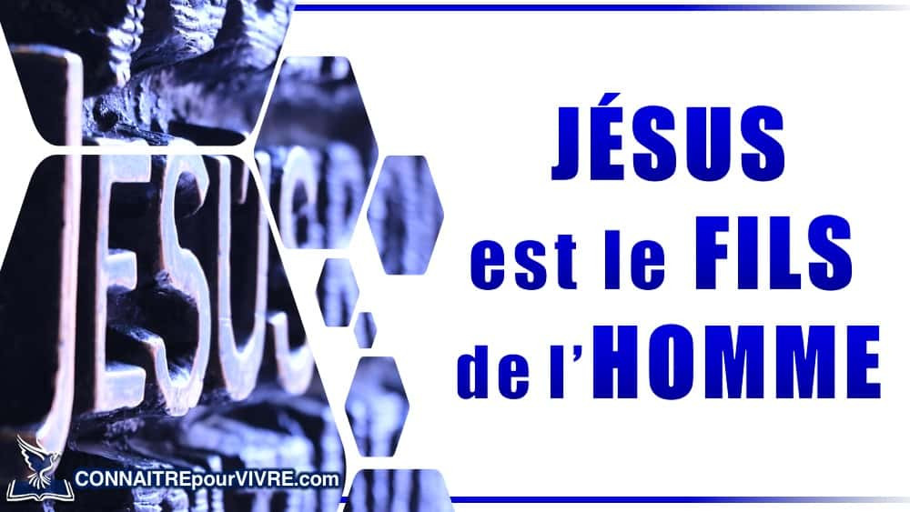 jesus fils de l'homme